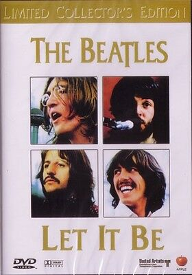 The Beatles 'let It Be' Limited Collectors Edition Dvd - Free Local Post