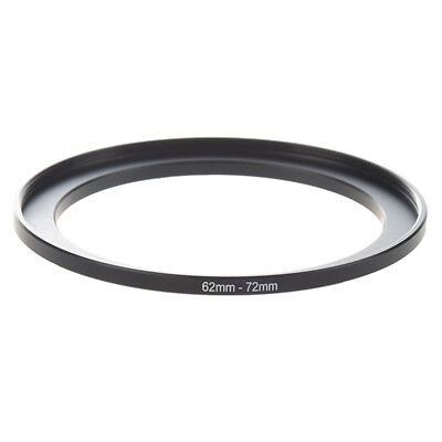 Camera Parts 62mm-72mm Lens Filter Step Up Ring Adapter Black D4P2 H1