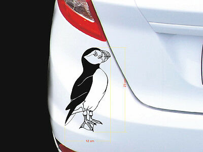 Papageitaucher / Atlantic Puffin  Tattoo - Auto- Tatto, 12x23 cm