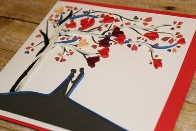 Wedding couple quilling greeting card handmade happy valentine wedding couple quilling greeting card handmade happy valentine anniversary 297 m4hsunfo