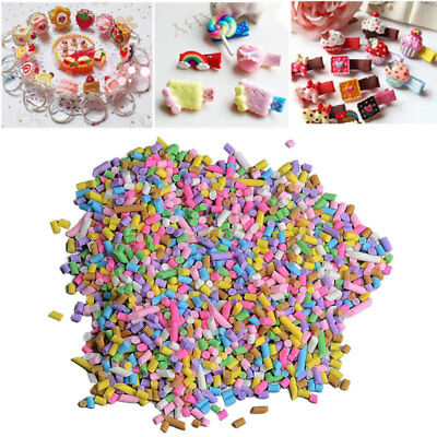 5/10/50g Polymer Clay Fake Soft Ceramic Bread Crumbs Sprinkles Phone Decor DIY