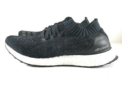 9cc49a193adef Adidas Ultra Boost Uncaged Black MultiColor Speckle BA9796 Womens Size 10