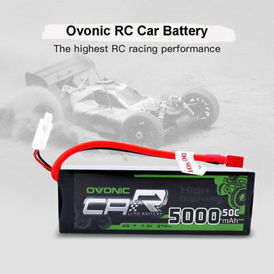 5000mAh 2S Lipo Battery 50C 7.4V Power Hardcase Deans Plug 21# For RC Car Truck