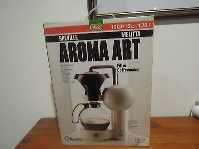 Breville Melitta Aroma Art Funky Coffee Maker Bnib Made In Germany
