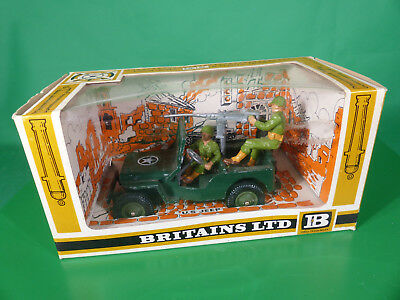 Britains Deetail #9786 US Army Jeep komplett in originaler Box