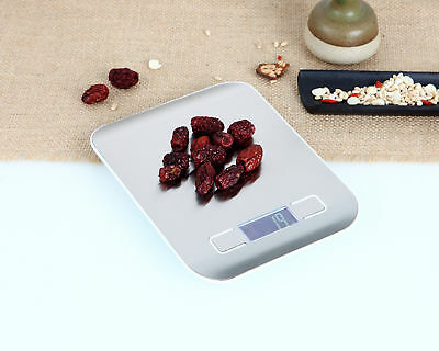 5/10kg Stainless SteelDigital LCD Electronic Kitchen Cooking Food Weighing Scale