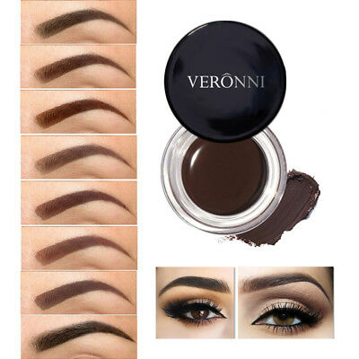 NEW EYEBROW STAMP Powder Palette Natural Definition Brow Makeup Cosmetic BY9F
