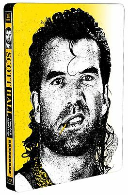 WWE: Scott Hall - Living On a Razor's Edge (Steel Book) [Blu-ray]