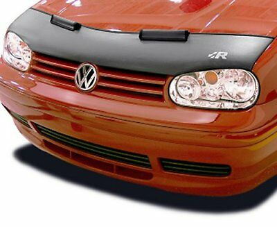 Volkswagen Golf 4 IV Rabbit MK4 99 00 01 02 03 04 05 Bra Car Hood Mask + R LOGO