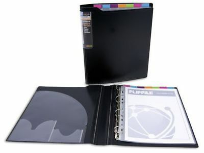 Agenda Collection Index Binder with 7 Part Coloured index Dividers