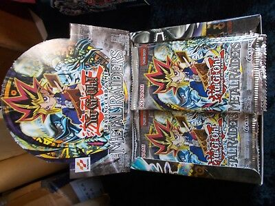 YuGiOh - 24 BOOSTER PACKS METAL RAIDERS - ENGLISH - OVP