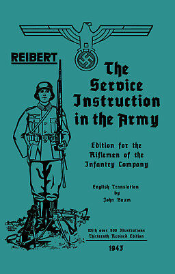 1943 Reibert Soldier Manual in English