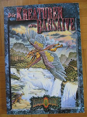 Earthdawn DIE KREATUREN VON BARSAIVE – DEUTSCH - FASA FANPRO Fantasy Production