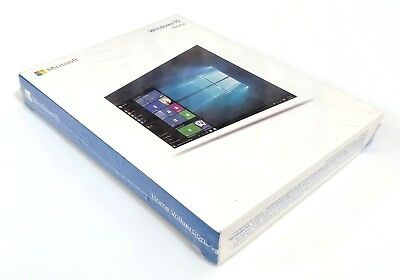 Genuine Microsoft Windows 10 Home German Usb 32/64Bit 1 Licence New Sealed!