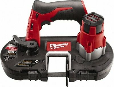Milwaukee Tool 12 Volt, 1-5/8 Inch Depth of Cut, Cordless Handheld Bandsaw 28...