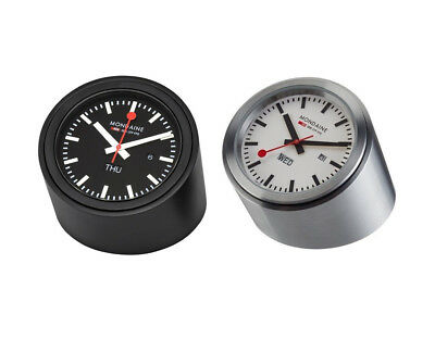 NEW Mondaine Tube Table Clock Watch