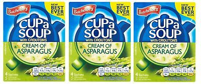 Three Batchelors Cup a Soup with Croutons Cream of Asparagus Best British Recipe