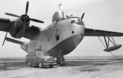 """WWII photo Flying boat Martin """"Mariner"""" of the US Coast Guard world war 54a"""