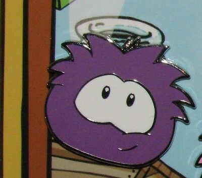 new Disney Pin PURPLE  Puffle Club Penguin Puffles from Booster