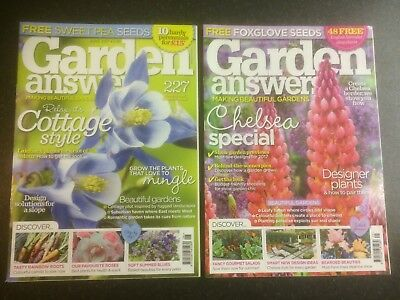 Garden Answers Magazines June Cottage Gardens & Chelsea Flower Show Special 2017