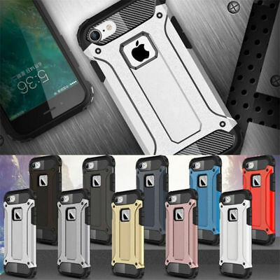 Shockproof Armor Rugged Hybrid Protector Phone Case Cover For iPhone 7 8 6s Plus