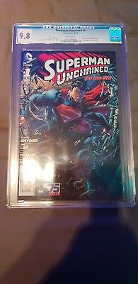 Superman Unchained #1 Cgc 9.8