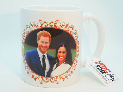 Prince Harry & Meghan Markle - Royal Wedding Gift Mug Cup Ceramic 320ml 11oz