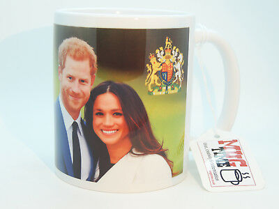 Prince Harry & Meghan Markle - Royal Wedding Gift Mug Cup Ceramic 320ml 11oz m6