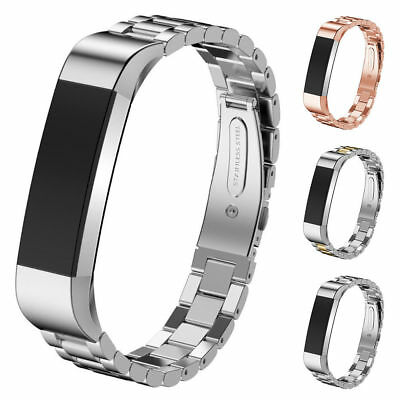 UK Stainless Metal Watch Wristband Band Strap Bracelet For Fitbit Alta / Alta HR