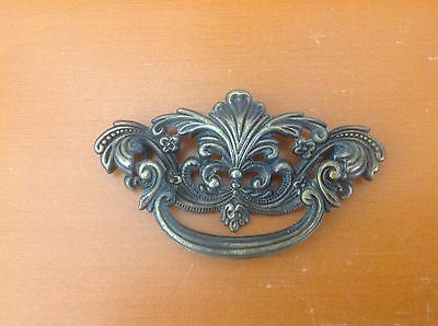 164 VTG French Provincial Swing Pull In Antique Brass tone only 1 left