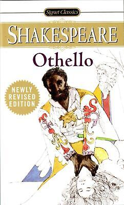 Othello by William Shakespeare (English) Mass Market Paperback Book Free Shippin