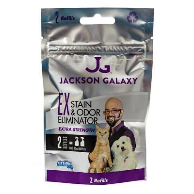 Jackson Galaxy Fizzion EXTRA STRENGTH Pet Stain & Odor Remover (2 Tablet Bag)