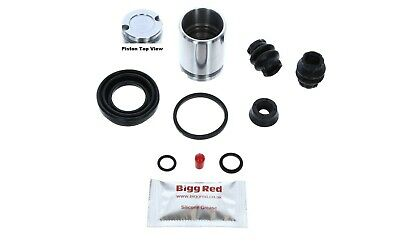 REAR Brake Caliper Seal & Piston Repair Kit for Alfa Romeo 145, 146, 156 BRKP7S