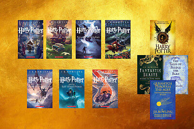 The Complete Harry Potter Series JK Rowling & Jim Dale (11 MP3 Audiobooks )