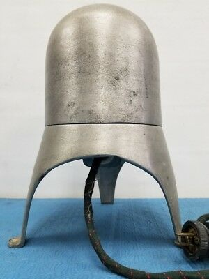 "Antique Head Form Mold Aluminum Electric Hat Stretcher Block 22""  Perfect WORK"