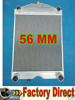 "2x1""up to 700HP Ford 2N/8N/9N tractor w/flathead V8 engine aluminum radiator"