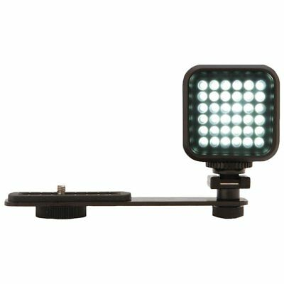Vivitar Hot Shoe Rechargeable LED Video Light for Cameras & Camcorders