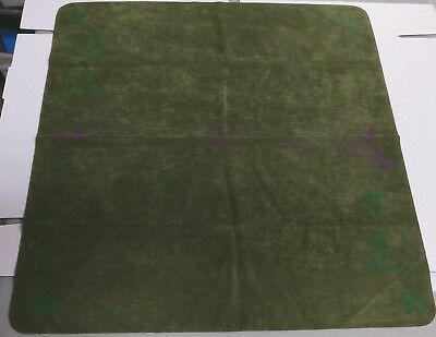 Spellground Classic Fern with Two Color Ink 2 Player Playmat Used Fast Ship!
