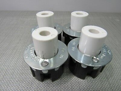 Leviton 516 Fluorescent Lamp Holder Lot of 4