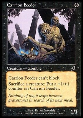 MTG 4x CARRION FEEDER - Scourge *Top Zombie*