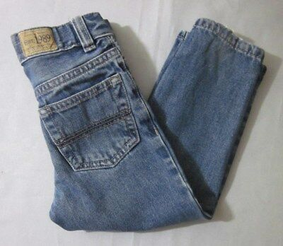 Est.1989 Place Boy's Blue Denim Straight Leg Jeans Size 3T Good Condition