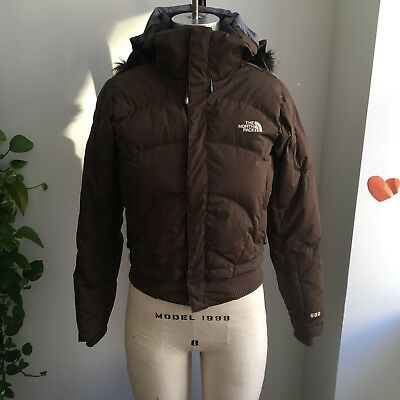 eaf23b144 THE NORTH FACE WOMENS GREENLAND JACKET DOWN PUFFER Black Xtra Small ...