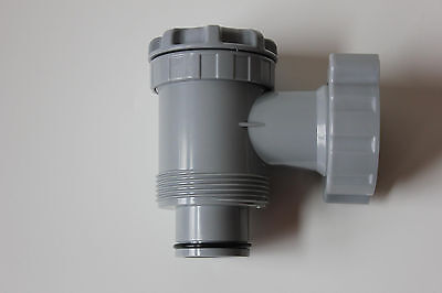 On Off Plunger Valve Only Swimming Pool Filter Pump Replacement For Intex