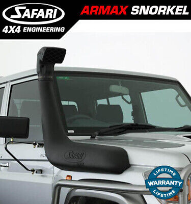 Safari Snorkel To Suit Toyota Land Cruiser 71, 73, 75, 76, 78, 79  Wide Front