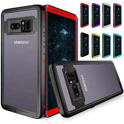 360 Full Body Waterproof Heavy Duty Hard Case Cover For Samsung Galaxy Note 8