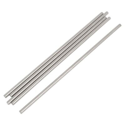 5 Pcs RC Airplane Stainless Steel Round Rods Axles Bars 3mm x 150mm X8C2