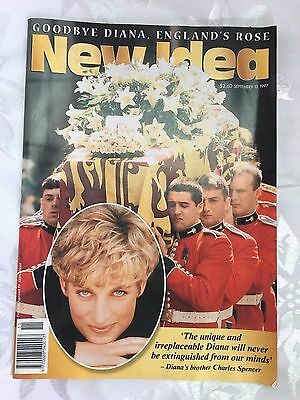 New Idea Magazine - Goodbye Diana - September, 1997 - Princess Diana - Royal
