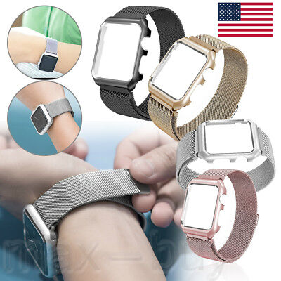 Milanese Stainless Steel Band Strap 38/42mm For iWatch Apple Watch Series 3/2/1