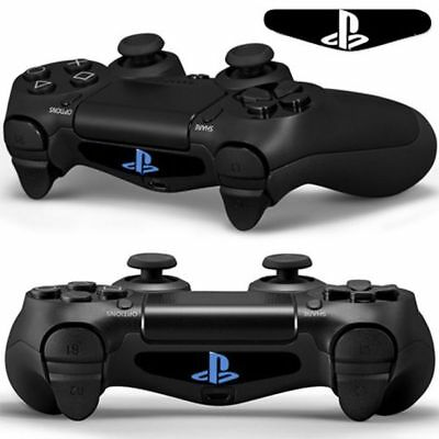 1Pair Playstation 4 PS4 Dualshock gamepad controller LED Light Bar Decal Sticker