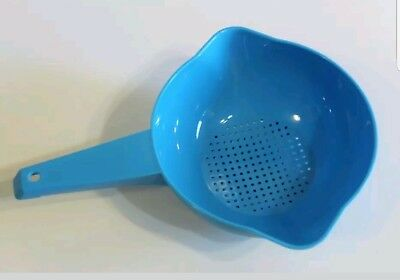 TUPPERWARE Classic 1 Quart Colander Strainer with Handle FREE US SHIPPING